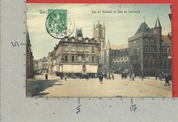 CARTOLINA VG BELGIO - GAND GENT - Rue Du Hainaut Et Rue Du Limbourg - 9 X 14 - 1918 - Gent