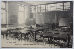 Lot 4 Cpa Quimper, Cours Notre Dame D'Espérance, Salle De Classe, Chapelle, Salon, étude - éditeur Villard - Quimper