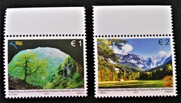 EUROPA - LES FORETS 2011- NEUFS ** - YT 81/82 - MI 190/91 - HAUTS DE FEUILLES - Kosovo