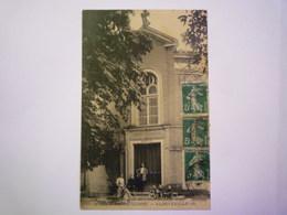 2020 - 4045  ALBEFEUILLE  (Tarn-et-Garonne)  :  Devant Le TEMPLE PROTESTANT   1912   XXX - Autres Communes