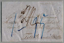 Beleg 1862, Folded Letter Sent Via The British Postoffice In Peru, CALLAO (29 OC/1862) Via PANAMA/LONDON/AACHEN/WIEN To  - Peru
