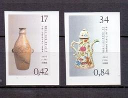 3008/3009 AARDEWERK EN PORSELEIN  ONGETAND POSTFRIS** 2001 - Belgium