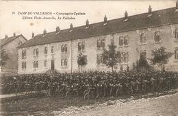 CAMP DU VALDAHON . COMPAGNIE CYCLISTE . - France