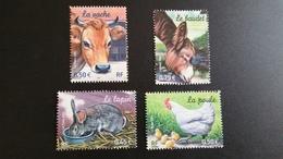 France Timbre NEUF  N° 3662 à 3665  - Animaux De La Ferme - Année 2004 - (4 Timbres) - Francia