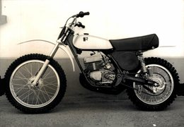 Fabrizio 125 +-14cm*10cm Moto MOTOCROSS MOTORCYCLE Douglas J Jackson Archive Of Motorcycles - Photographs