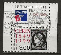 FRANCE:, Obl., N° YT 3211 Avec Vignette, TB - France