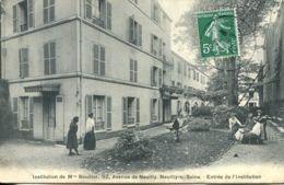 N°3608 T -cpa Neuilly Sur Seine -institution De Mme Boudier- - Neuilly Sur Seine