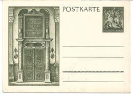 1618t: Ostmark 1944, Deutsche Goldschmiedekunst- Postkarte Ungelaufen - Entiers Postaux