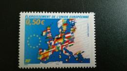 France Timbre NEUF  N° 3666  -Élargissement De L'union Européenne - Année 2004 - - Francia