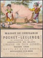 """Chromo """" Pochet-Leclercq""""  Thème """"Fontaine"""" (VG) DC6664 - Autres"""