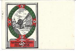 """1618r: Propagandakarte, """"Zum Geburtstag"""", Ungelaufen - 1918-1945 1. Republik"""