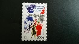 France Timbre NEUF  N° 3675  - Débarquements Et Libération - Année 2004 - - Francia