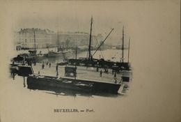 Bruxelles // Port (Vue Diff.) Ca 1899 - Maritiem