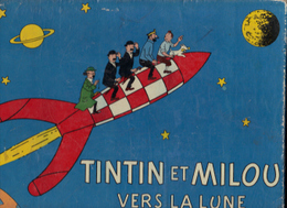 JEU TINTIN ET MILOU VERS LA LUNE - Tintin