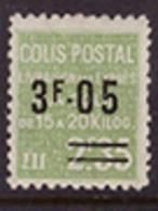 -France Colis Postaux 125** - Paketmarken
