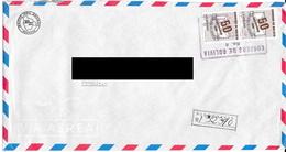 Lettre Recommandé De Banque De Bolivie Pour La France. (Voir Commentaires) - Bolivie