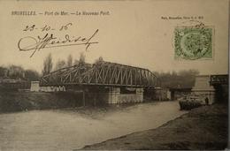 Bruxelles // Port De Mer - Le Nouveau Pont 1906 Nels Serie 1 No. 454 - Maritiem