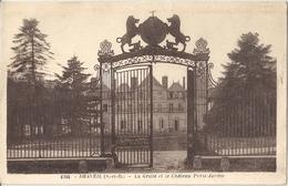 CPA Draveil La Grille Et Le Château Paris-Jardin - Draveil