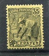 GUYANE  FRANCAISE   N°  58 *  (Y&T)  (Neuf Charnière) - Nuevos