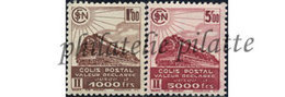 -France Colis Postaux 187A/88A** - Colis Postaux