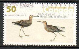 CANADA. N°2149 Oblitéré De 2005. Bécasseau/Audubon. - Tauben & Flughühner