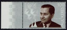 Estland 2016 - Paul Keres - Schach Chess Ajedrez échecs - MiNr 846** - Schach