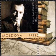 "Moldova 2020 ""115th Anniversary Of Wolfgang Pauli (1900–1958). Swiss Theoretical Physicist "" 1v Quality:100% - Moldavie"