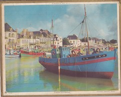 Calendrier 1969 ALMANACH Des P.T.T. / LE CROISIC (Loire-Atlantique) / 59 (NORD) / Plan LILLE, TOURCOING - Calendriers