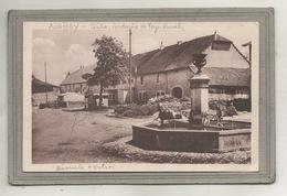 CPA - (39) AUGISEY - Mots Clés: Bascule, Fontaine, Octroi, Centre, Foyer Rural, Dans Les Années 30 - Altri Comuni
