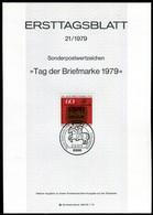 BRD - 1979 ETB 21/1979 - Mi 1023 - 60+30Pf                 Tag Der Briefmarke 79 - [7] República Federal