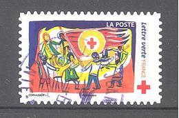 France Autoadhésif Oblitéré N°1425 (Au Profit De La Croix-Rouge) (cachet Rond) - Francia