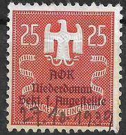 1618c2: Stempelmarke/ Donation Stamp, Swastika, III. Reich - Steuermarken