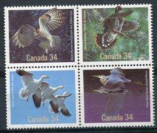 CANADA - 1986 - 955 à 958 ** - OISEAUX DU CANADA - Collections, Lots & Series