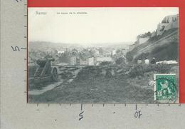 CARTOLINA NV BELGIO - NAMUR - Un Canon De La Citadelle - 9 X 14 - AFFRANCATA CON ANNULLO 1913 - Namen