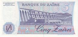 ZAIRE P. 26A 5 Z 1985 UNC - Zaïre