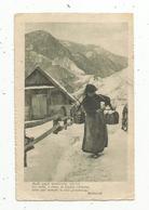 Cp  , ITALIE , Folklore , Molti Sogni Mentirono ,ma Voi....Bertacchi , écrite 1918 - Zonder Classificatie