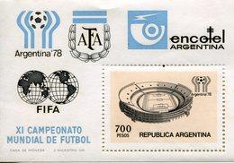 Argentina 1978 / FIFA COUPE DU MONDE BLOC ** MNH - 1978 – Argentine