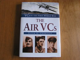 THE AIR VCs Aviation RAF England Avion Aircraft Guerre 14 18 Belgique France Victoria Cross Crosses Décoration Pilot - Guerre 1914-18