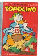 DISNEY - ALBUM TOPOLINO N°496 - 30 MAGGIO 1965 - NO BOLLINO - CONDIZIONI OTTIME!!! - Disney