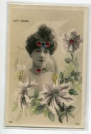 ARTISTE 1231 Lucy FERARD Réhaussée De Petits Brillants SIP 1013 S  Photographe  REUTLINGER - Artisti