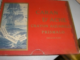 ASTUCCIO CARTONE CARAN D'ACHE CRAYON AQUARELLE PRISMALO N.999 - Inkwells