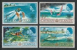 CAYMAN ISLANDS 1967 International Tourist Year: Set Of 4 Stamps UM/MNH - Kaimaninseln