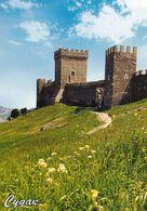1 AK Autonome Republik Krim In Der Ukraine * Sudak Eine Gut Erhaltene Genuesische Festung Aus Dem 11.-14. Jahrhundert * - Ukraine