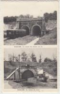28802g  TUNNEL DU CHEMIN DE FER - VICINAL - TUNNEL DU CANAL - BATEAU - Godarville - Chapelle-lez-Herlaimont