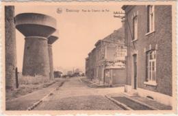 """28809g  RUE DU CHEMIN DE FER - """"TELEGRAPHE TELEPHONE PUBLIQUE"""" - Bascoup - Chapelle-lez-Herlaimont"""
