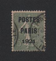 Faux Préoblitéré N° 28 15 C Semeuse Poste Paris 1921 - 1893-1947