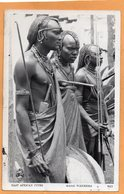 Masai Maasai Kenya Old Postcard - Kenya