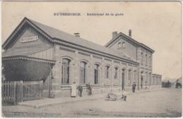 28835g  GARE  - Ruysbroeck - Ruisbroek - 1912 - Halle