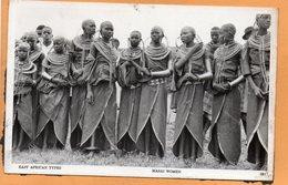 Masai Maasai Kenya Old Postcard - Kenia