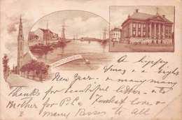 GRONINGEN  ~ AN EARLY 1890's -1901 VINTAGE POSTCARD  #21339 - Groningen